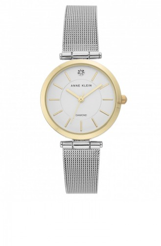 Silver Gray Wrist Watch 3565SVTT