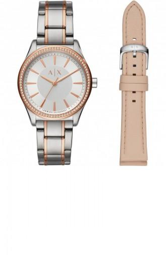 Silver Gray Wrist Watch 7103