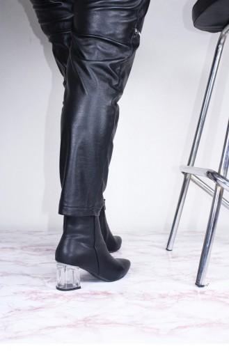 Black Boots-booties 00352.SIYAHCILT