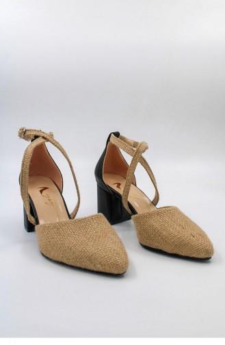 Black High-Heel Shoes 00429.SIYAHCILT