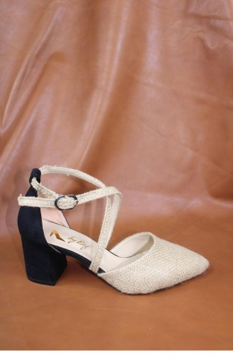 Black High-Heel Shoes 00429.SIYAHSUET