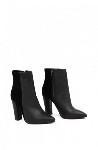 Black Boots-booties 00221.SIYAHSUETCILT