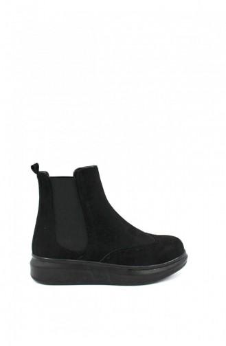 Black Boots-booties 00230.SIYAH