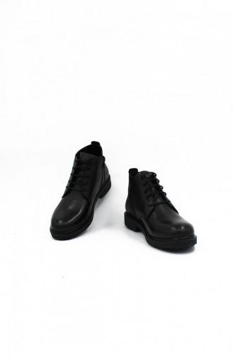 Black Boots-booties 00217.SIYAH