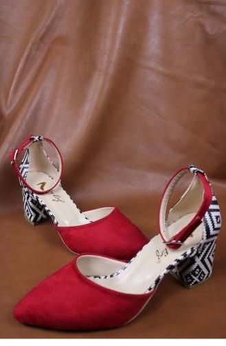 Red Heeled Shoes 00428.KIRMIZISUET