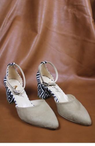 Chaussures a Talons Couleur de teint 00428.TENSUET