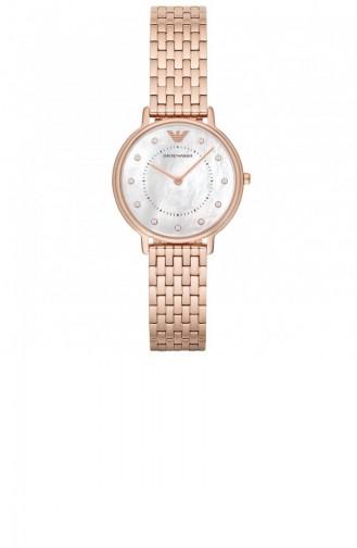 Rose Tan Wrist Watch 11006