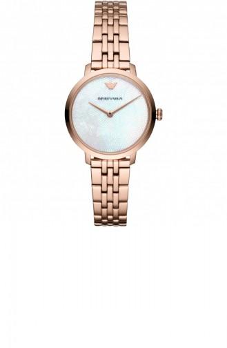 Rose Tan Wrist Watch 11158