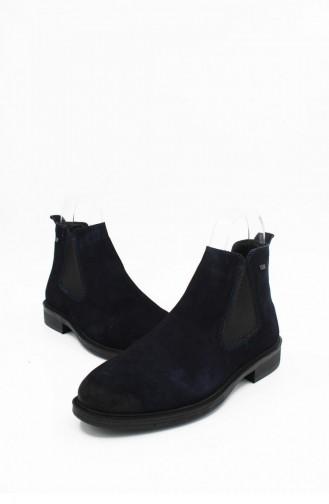 Navy Blue Boots-booties 00002.LACISUET