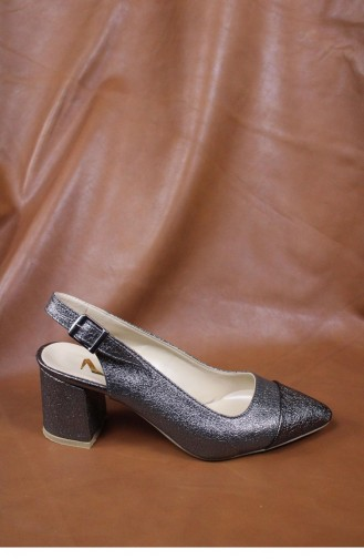Silver Gray High Heels 00017.GUMUS