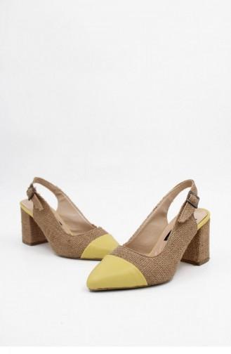 Yellow High-Heel Shoes 00017.LIMON