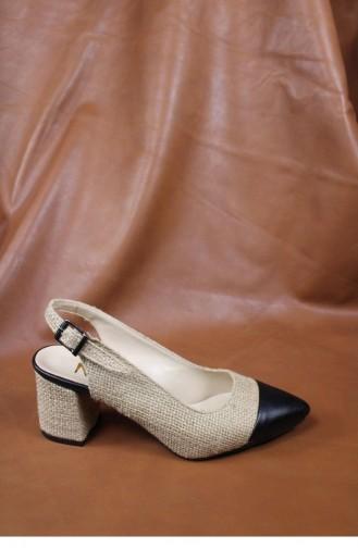 Black High-Heel Shoes 00017.SIYAHCILT