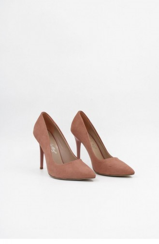Pink Heeled Shoes 00003.PEMBE
