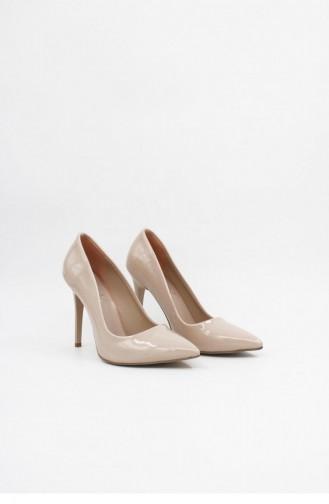 Erz4 Topuklu Ayakkabı Brlerz00004 Ten