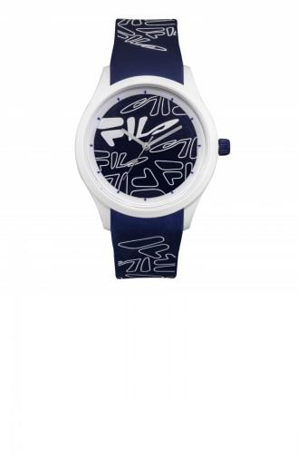 Navy Blue Wrist Watch 38-129-203
