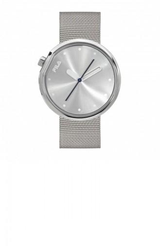 Silver Gray Wrist Watch 38-161-201