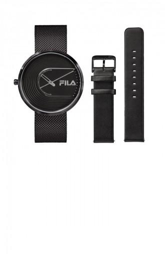 Black Wrist Watch 38-178-003SETB
