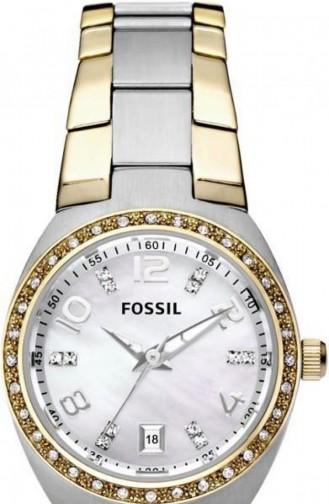 Silver Gray Wrist Watch 4183