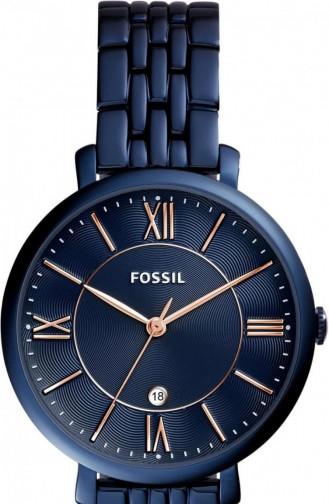 Navy Blue Wrist Watch 4094