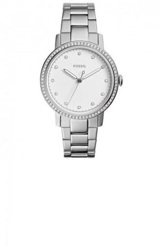 Silver Gray Wrist Watch 4287