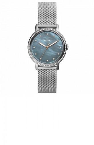 Silver Gray Wrist Watch 4313