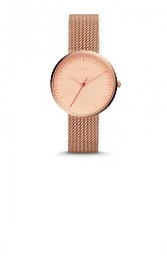 Rose Tan Wrist Watch 4425