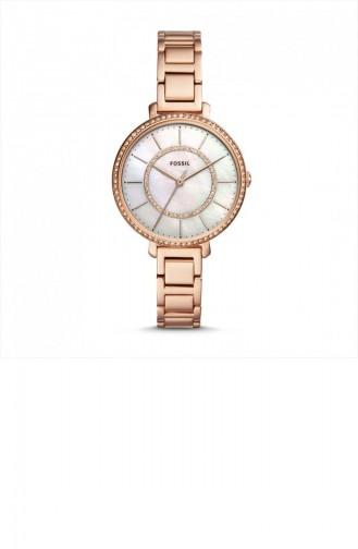 Rose Tan Wrist Watch 4452