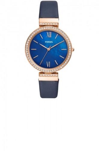 Navy Blue Wrist Watch 4538