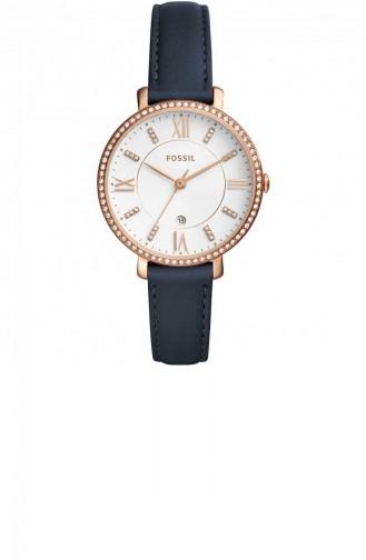 Navy Blue Wrist Watch 4291