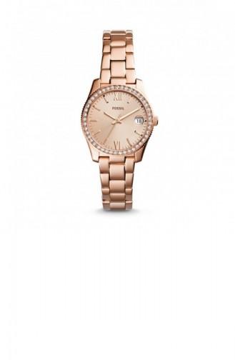 Rosa Haut Uhren 4318