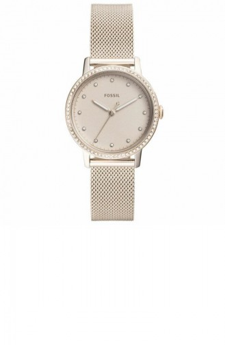 Beige Wrist Watch 4364