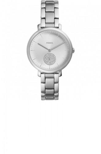 Silver Gray Wrist Watch 4437