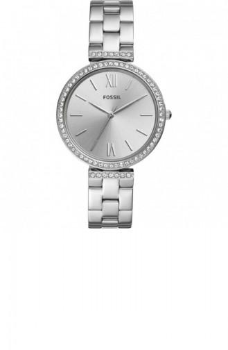 Silver Gray Wrist Watch 4539