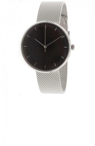Silver Gray Wrist Watch 4610