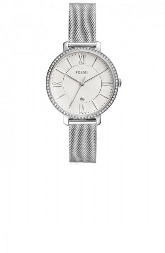 Silver Gray Wrist Watch 4627