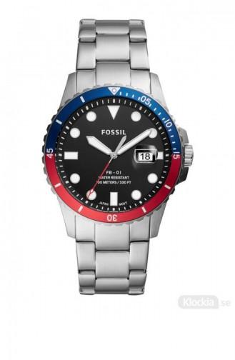 Silver Gray Wrist Watch 5657