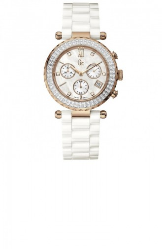 White Wrist Watch 22104M1
