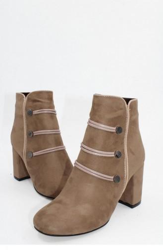 Bottes-Bottines Couleur de teint 00345.TEN