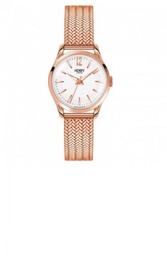 Rose Tan Wrist Watch 25-M-0022