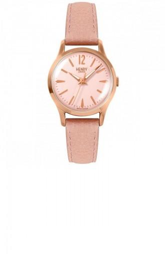 Rose Tan Wrist Watch 25-S-0170