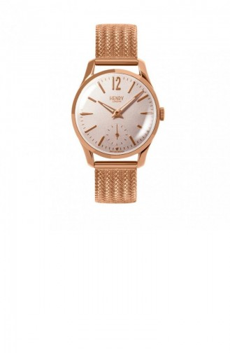 Rose Tan Wrist Watch 30-UM-0164