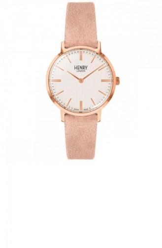 Rose Tan Wrist Watch 34-S-0342