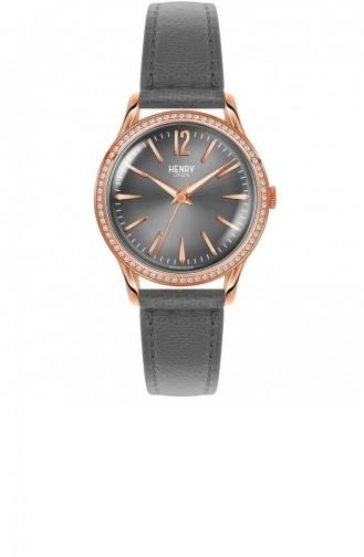 Grau Uhren 34-SS-0200