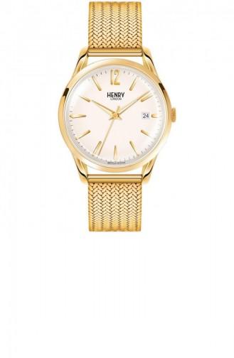 Gold Wrist Watch 39-M-0008