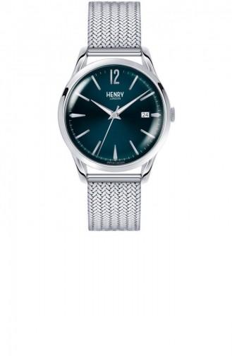 Silbergrau Uhren 39-M-0029