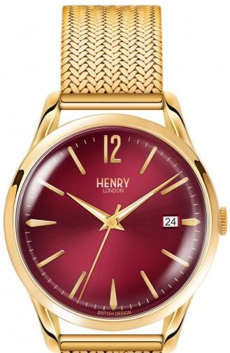 Gold Wrist Watch 39-M-0062