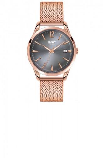 Rose Tan Wrist Watch 39-M-0118