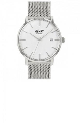 Silbergrau Uhren 40-M-0373