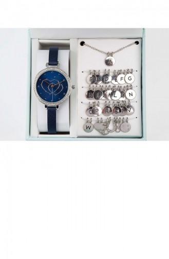 Montre Bleu Marine 1887S489-007