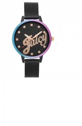 Black Wrist Watch 1122MTBK